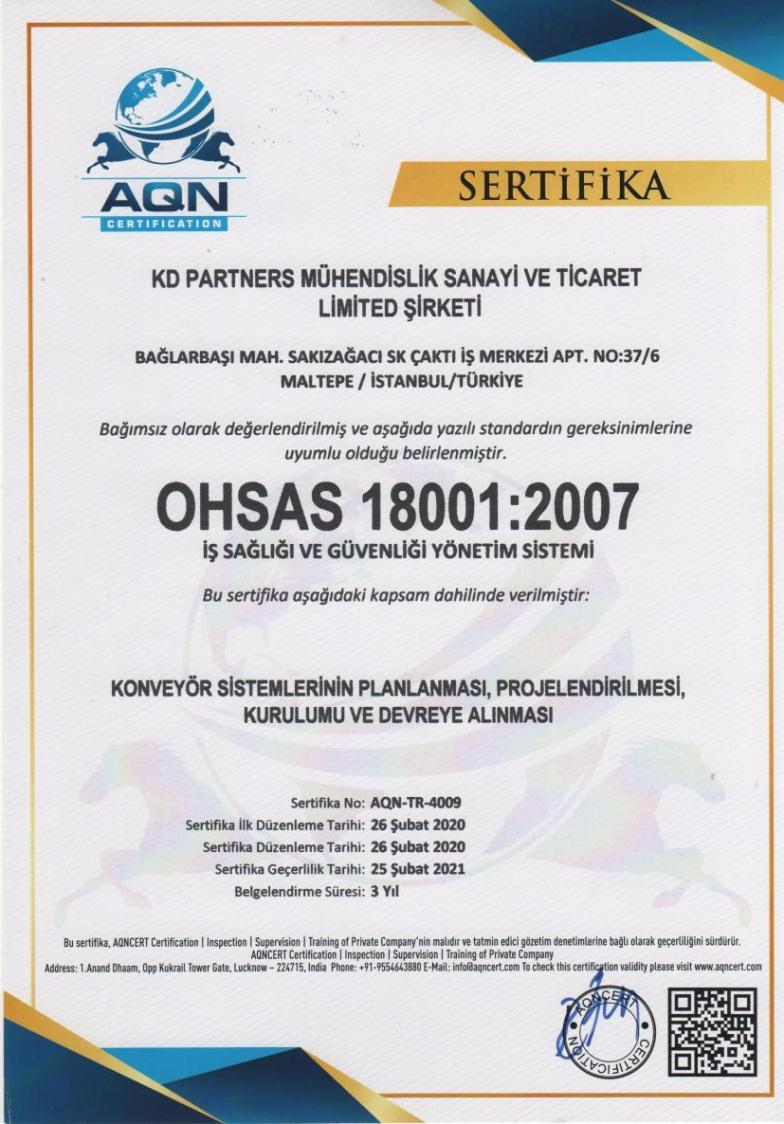 OHSAS 18001 Occupational Health And Safety Management System